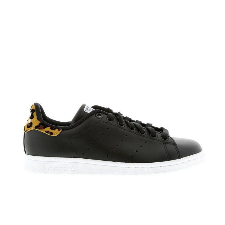 adidas stan smith nere leopardate