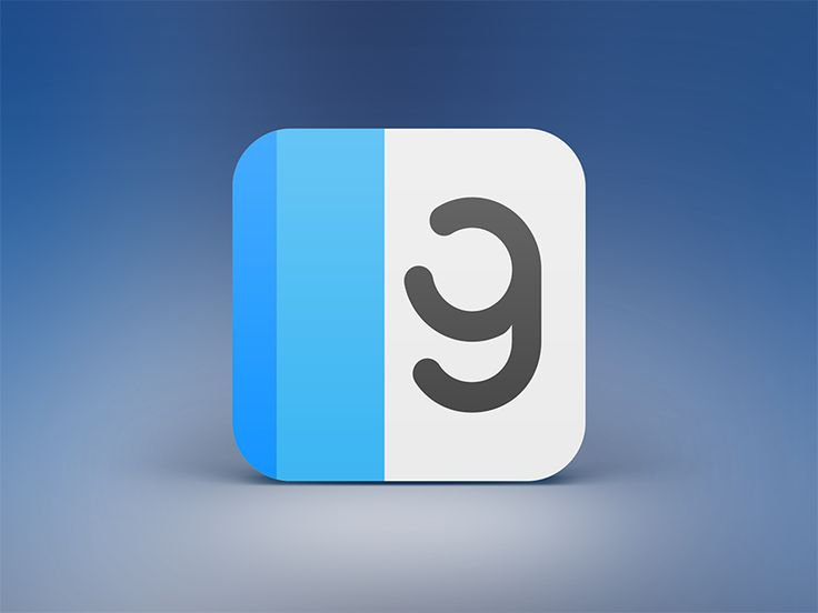 ReadGloss iPhone App Icon by Anton Skorniakov for Alterplay