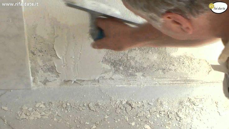 Rimuovere l'umidità e la muffa dai muri