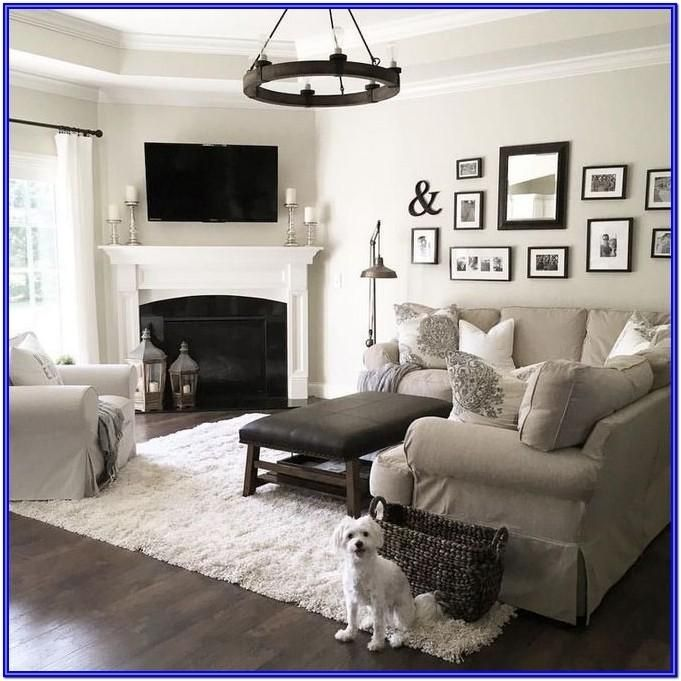 Joanna Gaines Lcountry Farmhouse Living Room Ideas In 2020 Corner Fireplace Living Room Farm House Living Room Livingroom Layout