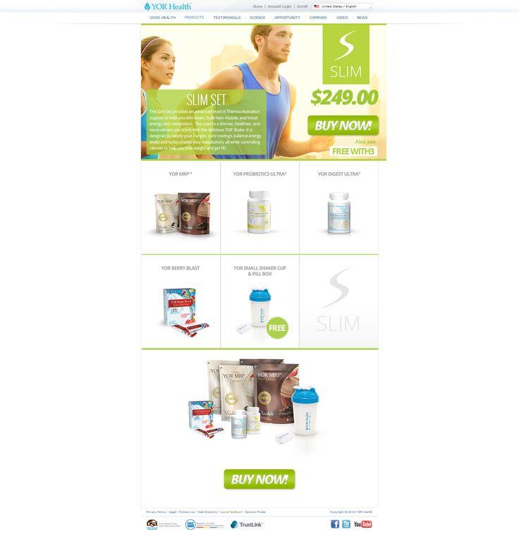 YOR Health Products | YOR Slim Set