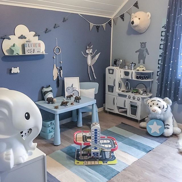 17 Best Ideas About Blue Playroom On Pinterest