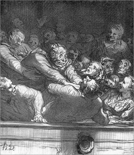 honore-daumier-discussion-literaire-172209 ('I said I wanted a bloody chock-ice!')
