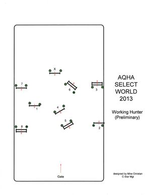 Practice with this Working Hunter pattern from the 2013 Adequan Select World Championship Show.