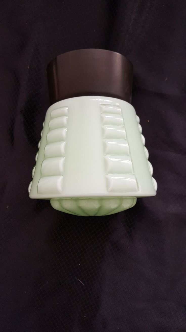 vintage soft green lamp by CuriosityshopDesign on Etsy