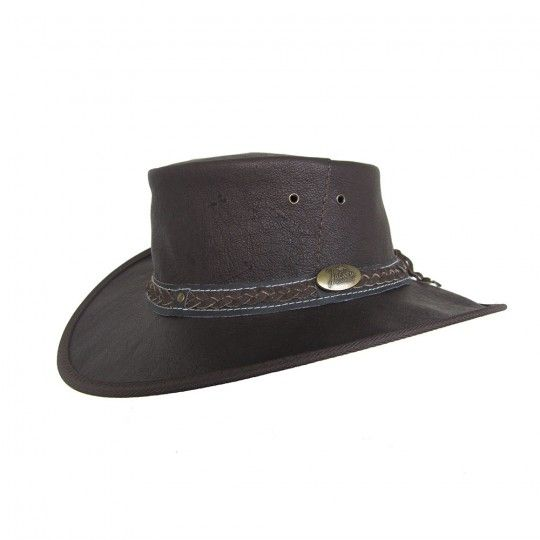 Jacaru Hat Kangaroo Leather Hat Large | Australian Geographic Shop Online