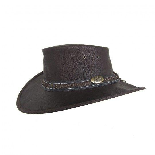 Jacaru Hat Kangaroo Leather Hat Large | Australian Geographic Shop Online