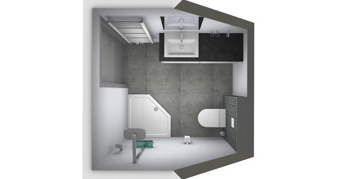 Meer dan 1000 idee n over kleine badkamer ontwerpen op pinterest kleine badkamers badkamer en - Outs kleine ruimte ...
