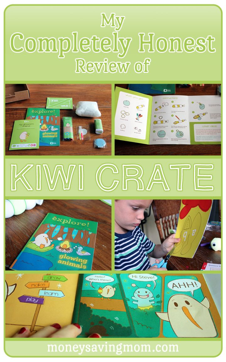 Thinking of trying out Kiwi Crate? Here's a completely honest review on it... why we loved it, but why we can't fully endorse it. Click through for pictures and full details.