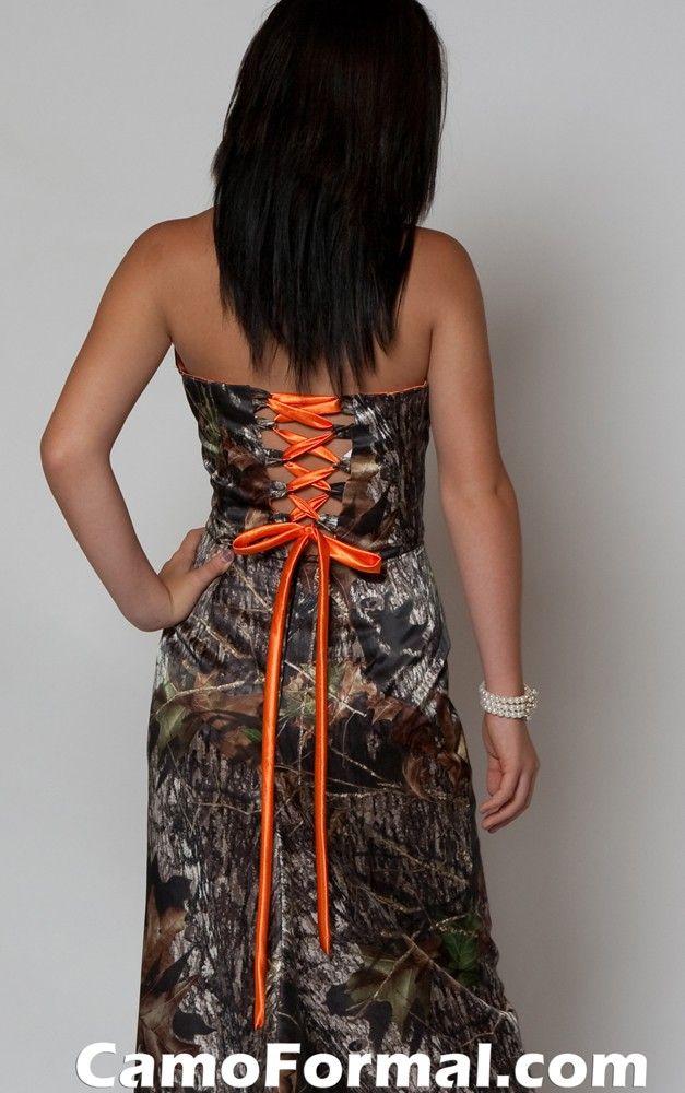 Mossy oak camo dresses for prom