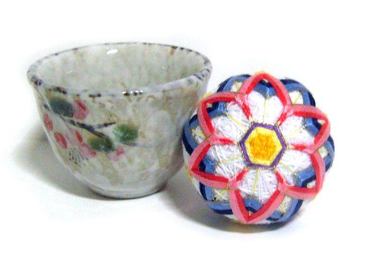 White color tea cup pincushion