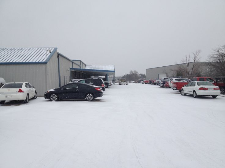 We design, build and ship in Greenville,TX. But today doesn't look like Texas! #snowday