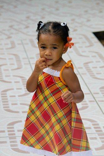 Kyméa en robe Madras