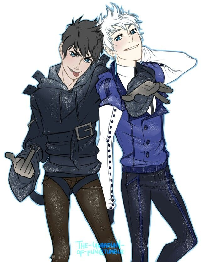 Fuck my life!¡! Dark Jack Frost and normal Jack Frost together, Lord Thankyouuu