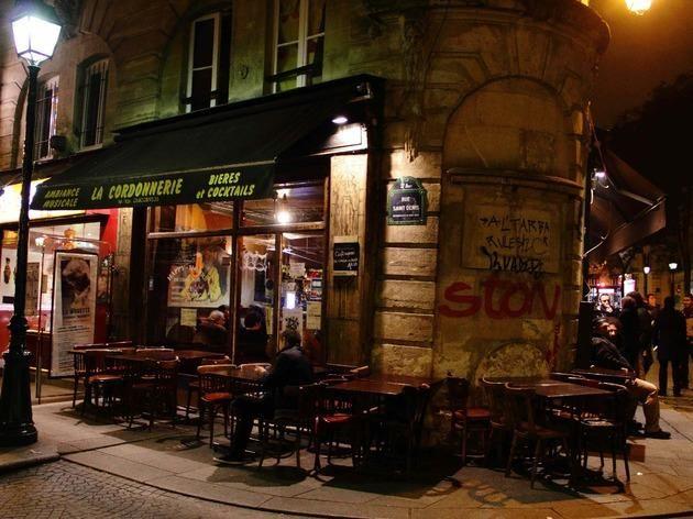 10 bars pas chers sur Paris / La Cordonnerie