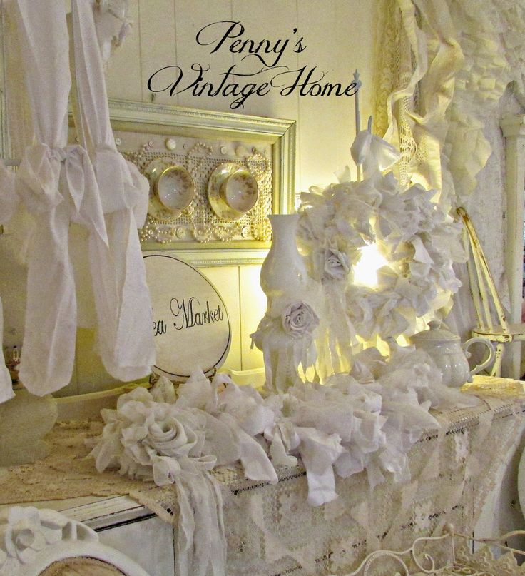 Feature from Project Inspire{d} ~ Penny's Vintage Home: Romantic Rags