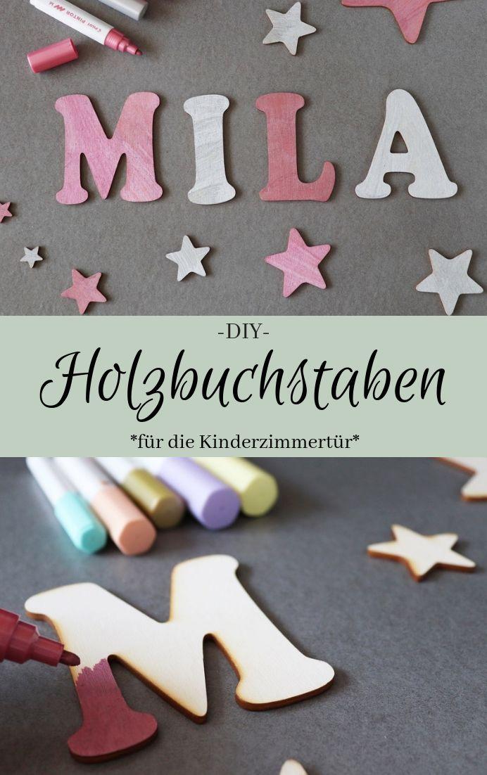Ballon Tolle Holzbuchstaben f/ür Kinderzimmer-T/ür