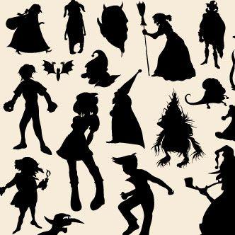Vector gratis de Personajes de cuentos