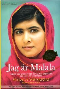 http://www.adlibris.com/se/organisationer/product.aspx?isbn=9187785897 | Titel: Jag är Malala : flickan som stod upp för rätten till utbildning och sköts av talibanerna - Författare: Malala Yousafzai, Christina Lamb - ISBN: 9187785897 - Pris: 195 kr