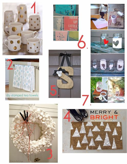favorite diy home decor gifts!