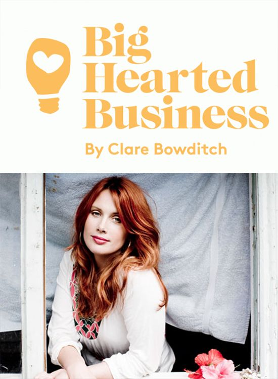 The Most Inspiring Weekend of my life - Clare Bowditch's Big Hearted Business Conference.  Thanks Clare xx
