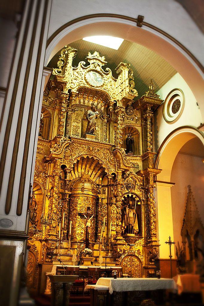 Iglesia San José, Altar de Oro, Ciudad de Panamá - Altar of Gold in Panama City