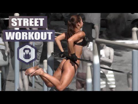 """Street Workout in Ukraine – amazing female motivation. Incredible Street Workout Motivation /outdoor gym iron land. Стрит воркаут мотивация – знаменитое место в Киеве """"Гидропарк"""", где собираются спортсмены и любители активного образа жизни. Здесь много красивых девушек и даже на турниках. Приходите, занимайтесь спортом, загорайте и наслаждайтесь летом. На видео уличный спорт под названием Street …"""