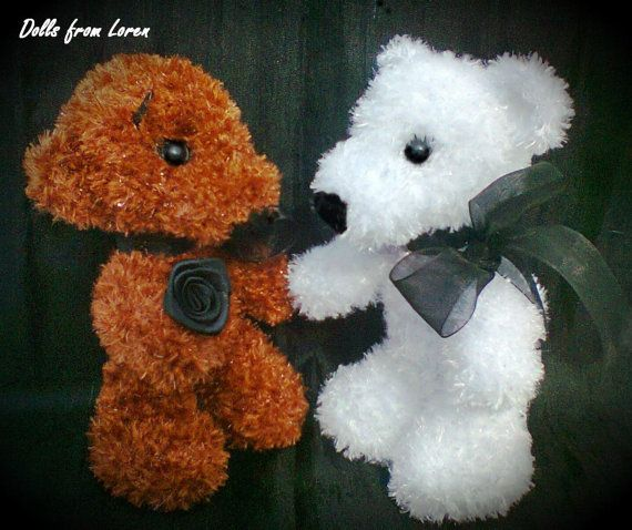 Crochet Teddy Bears by LorensDolls on Etsy