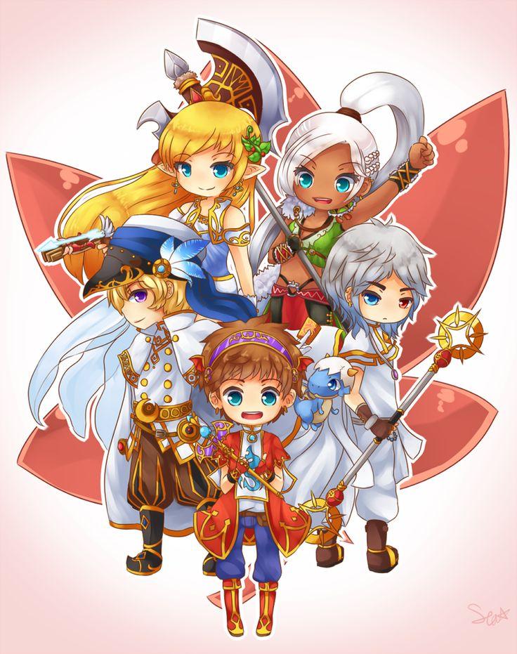 MapleStory: Maple Heroes by SeaStaar