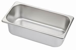 Minox 1-3-100 1/3 Size Gastronorm Pan - Pans Trays - Kitchen & Catering Equipment