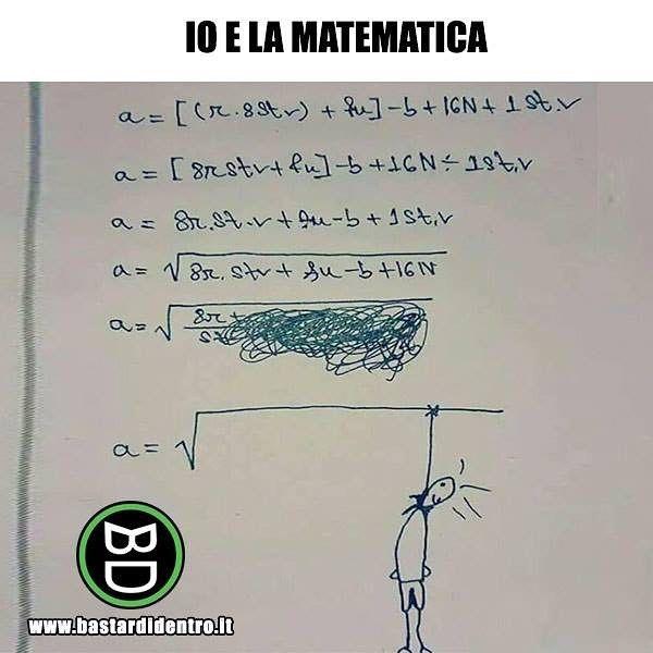 Tu come vai in matematica?