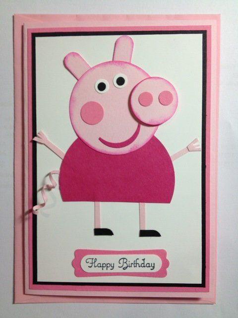 Peppa Pig Card - Scrapbook.com