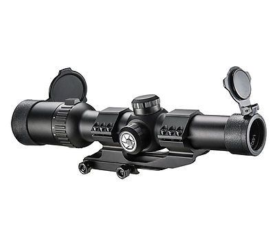 ﹩243.54. Barska AR6 TACTICAL SCOPE 1-6X24 IR 30MM AC12390    UPC - 790272000708