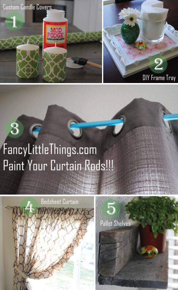 easy & quick home decor projects