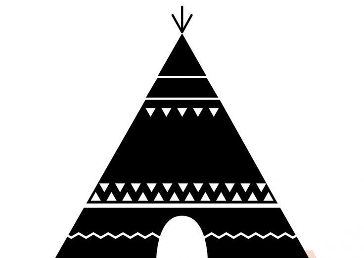 stay in a tee pee