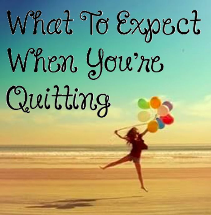 What to Expect When You're Quitting! Information on giving up refined sugar. The side-effects of quitting sugar.