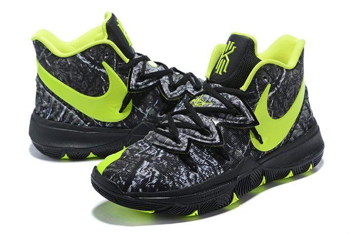 d321b5acc1f18e Buy Taco x Nike Kyrie 5 Celtics PE Black Green Shoes-4