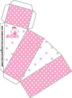 Chá de Bebê ou Nascimento Menina – Kit Completo com molduras para convites, rótulos para guloseimas, lembrancinhas e imagens! | Fazendo a No...