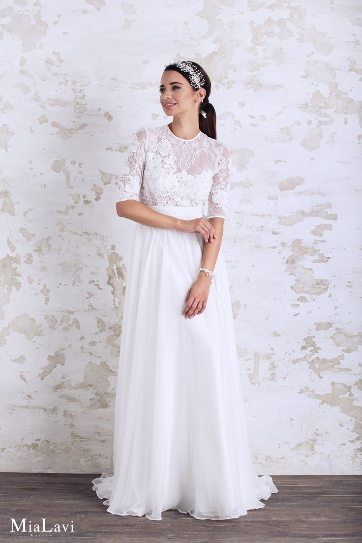 Romantic wedding dress 1706, Mia Lavi 2017