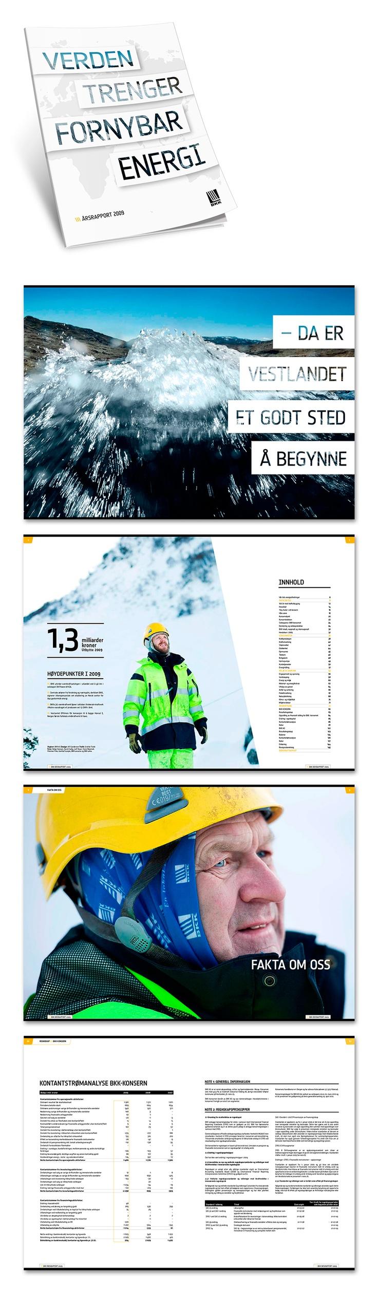 Årsrapport for BKK 2009.