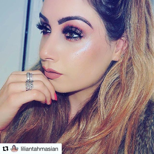 """Some days only a peach will do! 🍑😍The beautiful @liliantahmasian wearing our delicious """"Fuzzy Peach"""" 3D Glam Mink Lashes!!  •  •  •  •  #makeup #eyelashes #eyemakeuplook #lasheslove #lashesonfleek #lashgoals #eyes #lash #makeupgoals #lashfordays #lashaddict #lashes4days   #makeupinspo #instamakeup #beauty"""