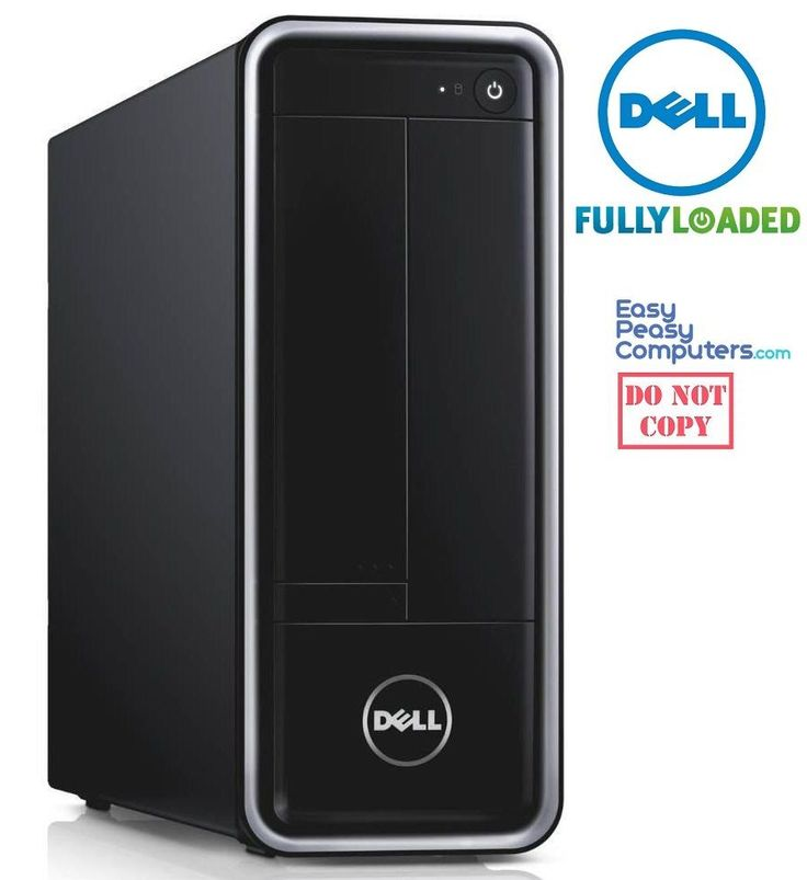 BRAND NEW DELL Desktop Computer Inspiron Windows 10 500GB 4GB (FULLY LOADED) #Dell Cheap Computers #cheapcomputers