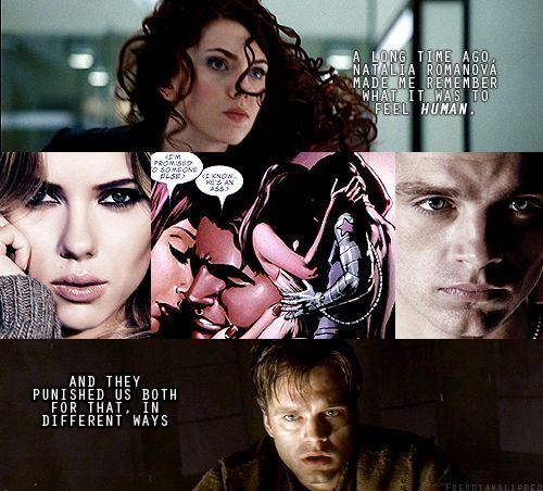 Bucky & Natasha: Winterwidow, I don't care what anyone ...