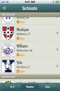 An app for college visits=>Quad2Quad