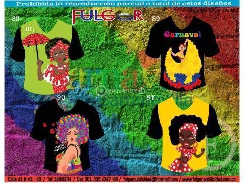 camisetas de carnaval de barranquilla | ... motivo de venta fabricantes de camisetas descripcion camisetas del