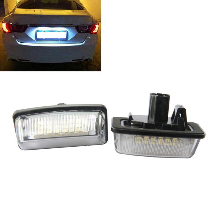 $14.39 (Buy here: https://alitems.com/g/1e8d114494ebda23ff8b16525dc3e8/?i=5&ulp=https%3A%2F%2Fwww.aliexpress.com%2Fitem%2F2X-Car-LED-License-Plate-Lights-12V-SMD3528-LED-Number-Plate-Lamp-Bulb-Kit-For-Toyota%2F32770577523.html ) 2X Car LED License Plate Lights 12V SMD3528 LED Number Plate Lamp Bulb Kit For Toyota Crown S180 Corolla Vios Previa Accessories for just $14.39