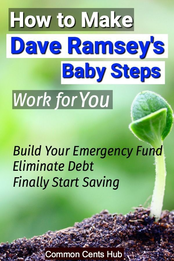 How to Make Dave Ramsey's Baby Steps Work