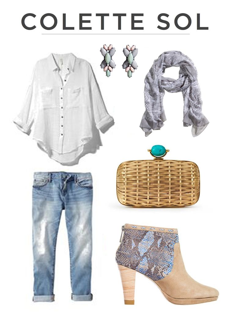 A Summer outfit, casual but glam. How to wear