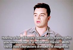 Mickey talking love and relationships :) Ian and Mickey are fantastic <3