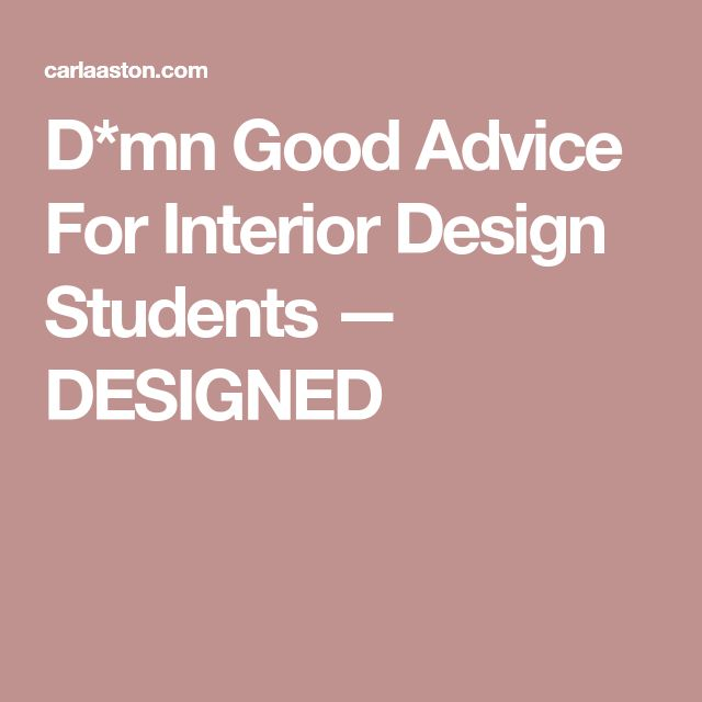 Best 25 interior design education ideas on pinterest for Interior design student jobs